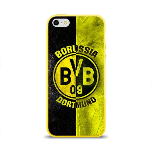 Чехол для Apple iPhone 5/5S силиконовый глянцевый BVB