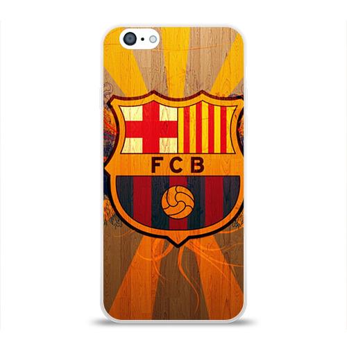 Чехол для Apple iPhone 6 силиконовый глянцевый  Фото 01, Barcelona
