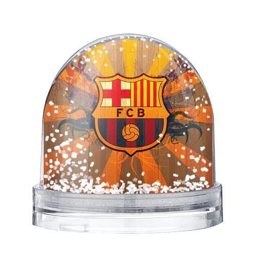 Водяной шар со снегом Barcelona