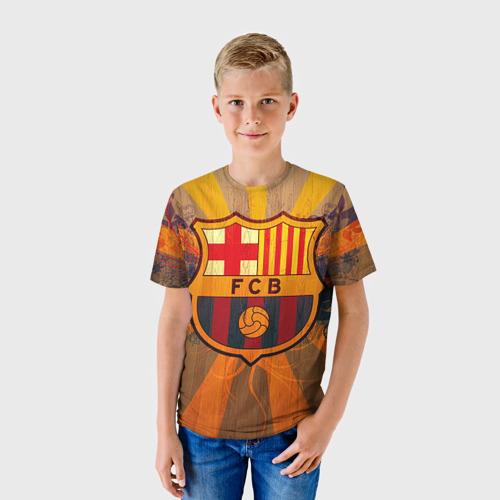 Детская футболка 3D Barcelona