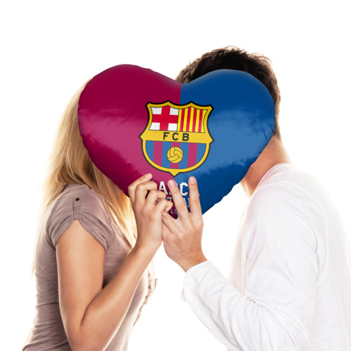 Подушка 3D сердце  Фото 03, Barca