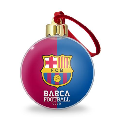 Ёлочный шар с блестками  Фото 01, Barca
