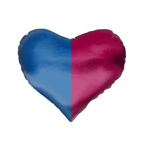 Подушка 3D сердце  Фото 02, Barca