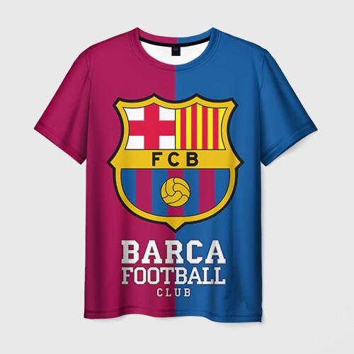 Мужская футболка 3D Barca