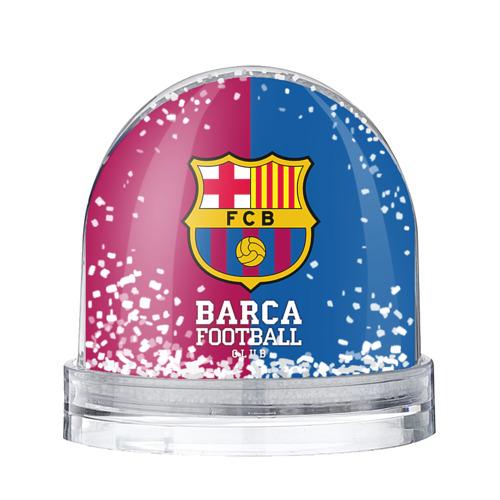 Водяной шар со снегом Barca