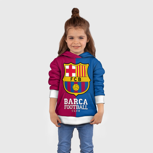 Детская толстовка 3D Barca