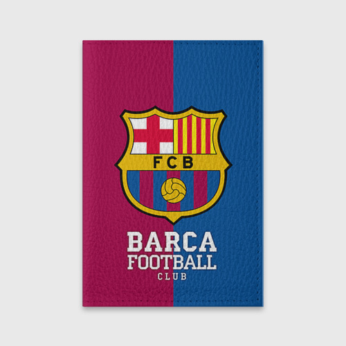 Обложка для паспорта матовая кожа Barca