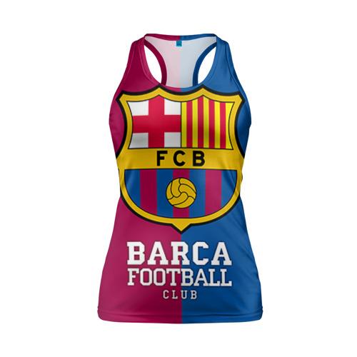 Женская майка 3D спортивная Barca