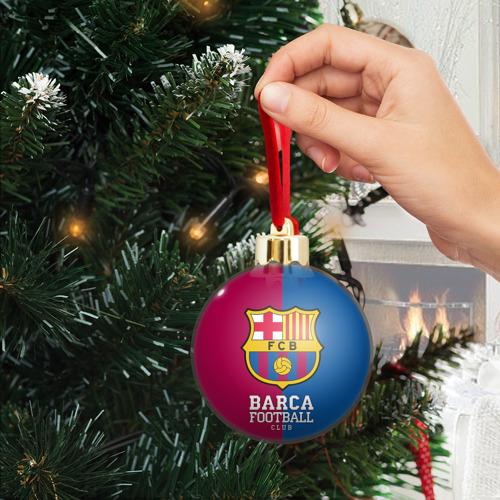 Ёлочный шар с блестками  Фото 04, Barca