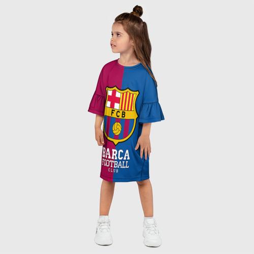Детское платье 3D  Фото 03, Barca