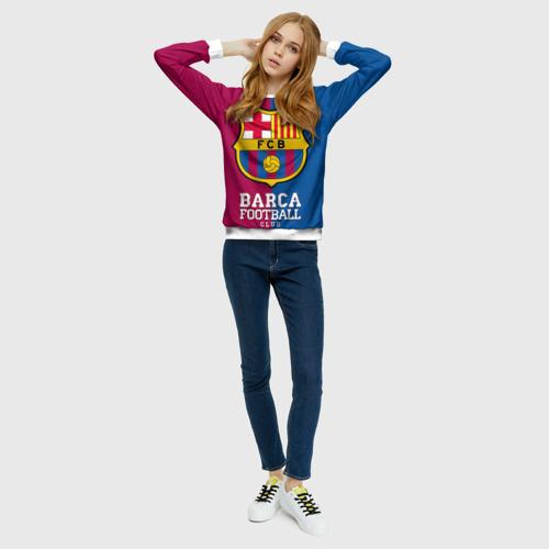 Женский свитшот 3D Barca