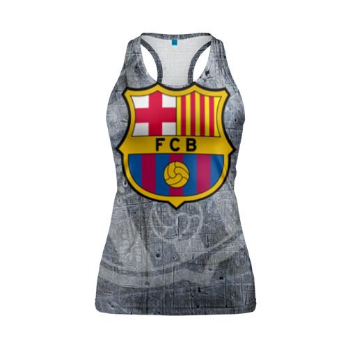 Женская майка 3D спортивная Barcelona