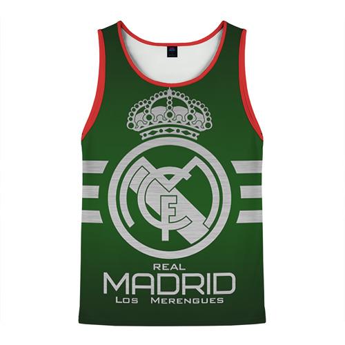 Мужская майка 3D Real Madrid