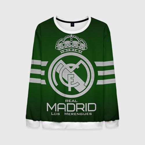 Мужской свитшот 3D Real Madrid от Всемайки