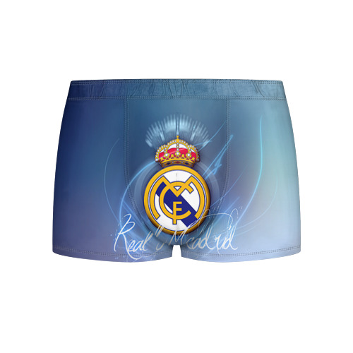 Мужские трусы 3D Real Madrid