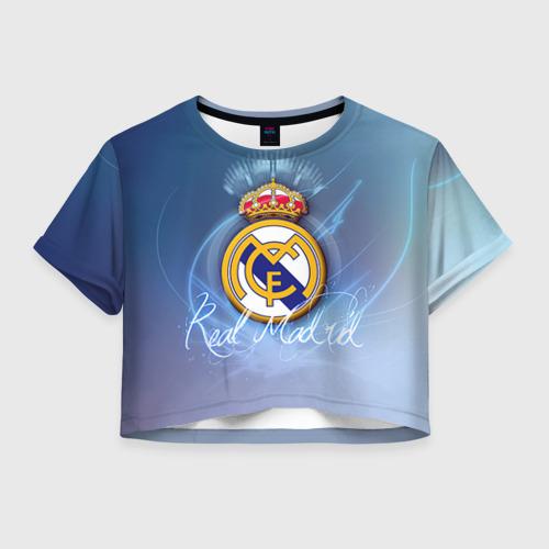 Женская футболка Cropp-top Real Madrid