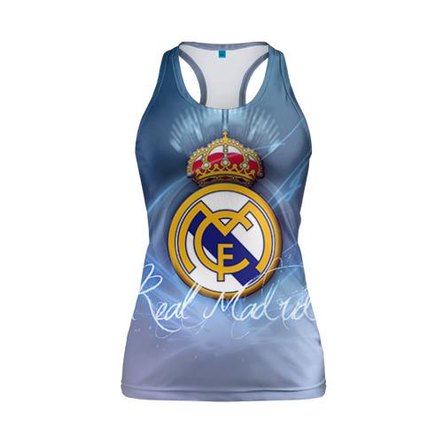 Женская майка 3D спортивная Real Madrid