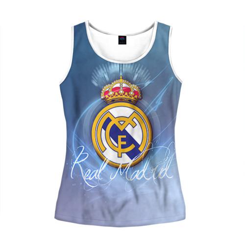 Женская майка 3D  Фото 01, Real Madrid