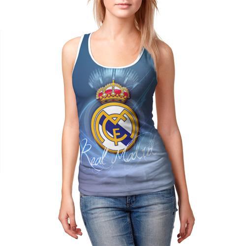 Женская майка 3D  Фото 03, Real Madrid