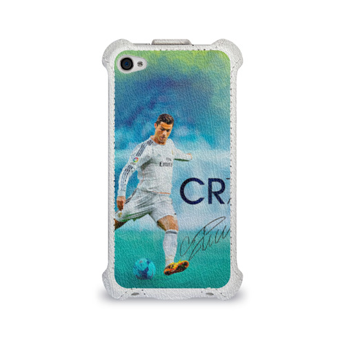 Чехол для Apple iPhone 4/4S flip Ronaldo