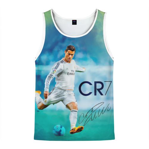 Мужская майка 3D Ronaldo