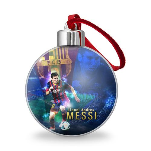 Ёлочный шар  Фото 01, Messi