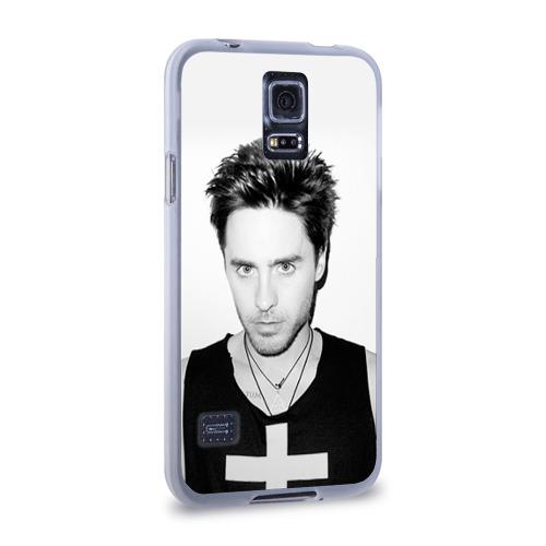 Чехол для Samsung Galaxy S5 силиконовый  Фото 02, Джаред Лето