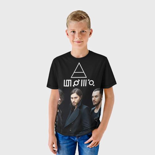 Детская футболка 3D 30 seconds to mars