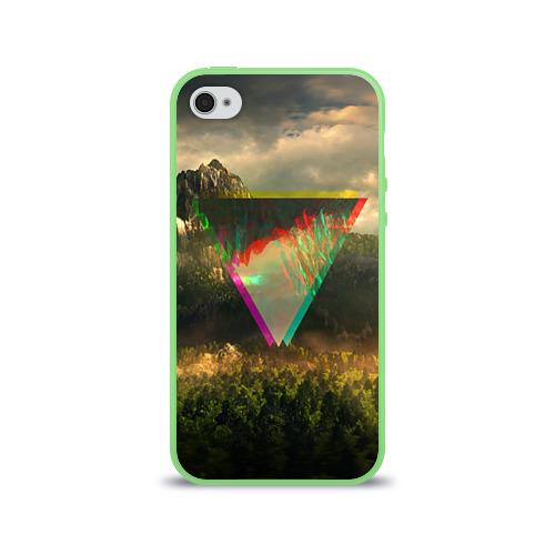 """Чехол силиконовый глянцевый для Apple iPhone 4S """"30 seconds to mars"""" - 1"""