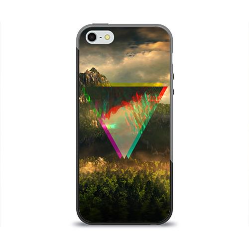 Чехол для Apple iPhone 5/5S силиконовый глянцевый 30 seconds to mars от Всемайки