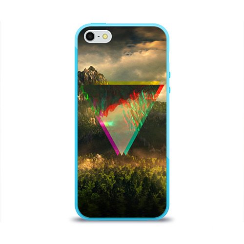 Чехол для Apple iPhone 5/5S силиконовый глянцевый  Фото 01, 30 seconds to mars