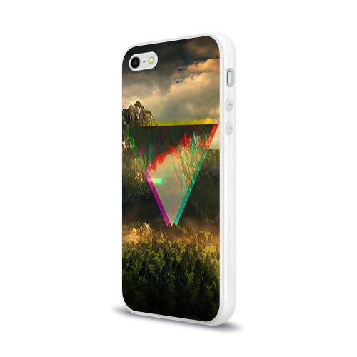 Чехол для Apple iPhone 5/5S силиконовый глянцевый  Фото 03, 30 seconds to mars