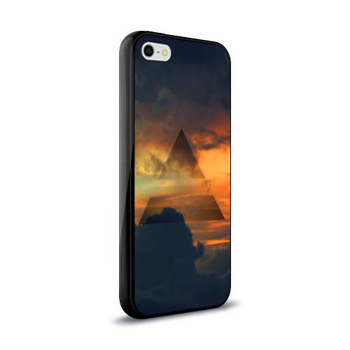 Чехол для Apple iPhone 5/5S силиконовый глянцевый  Фото 02, 30 seconds to mars