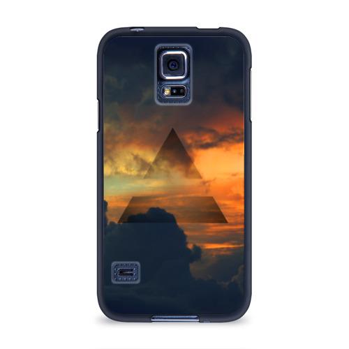 Чехол для Samsung Galaxy S5 силиконовый 30 seconds to mars