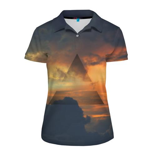 Женская рубашка поло 3D 30 seconds to mars