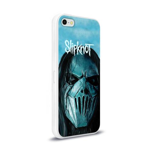 Чехол для Apple iPhone 5/5S силиконовый глянцевый  Фото 02, Slipknot