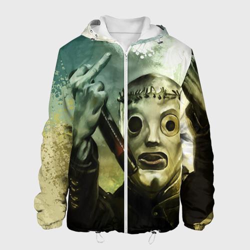 Мужская куртка 3D Slipknot