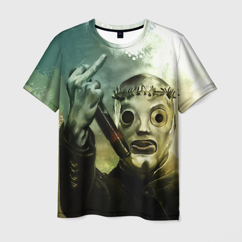 Мужская футболка 3D Slipknot