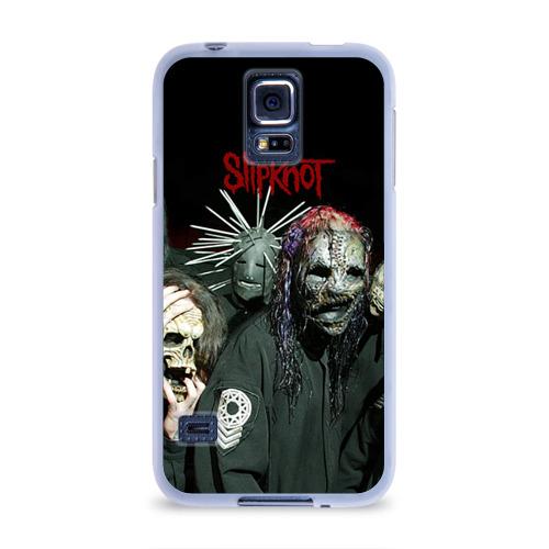 Чехол для Samsung Galaxy S5 силиконовый  Фото 01, Slipknot