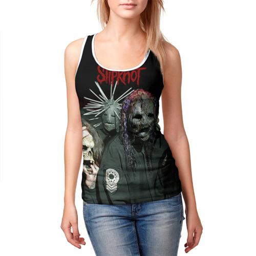 Женская майка 3D  Фото 03, Slipknot