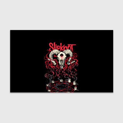 Бумага для упаковки 3D Slipknot Фото 01