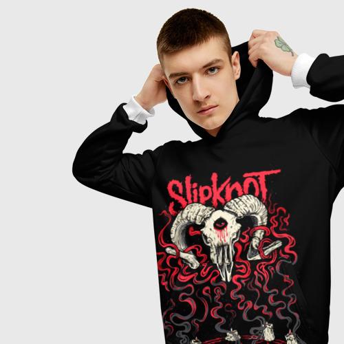 Мужская толстовка 3D Slipknot