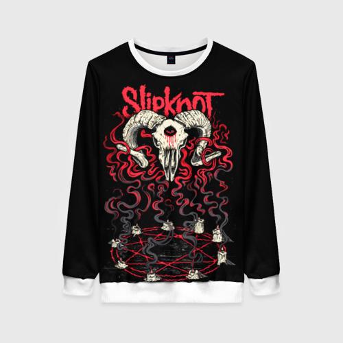 Женский свитшот 3D Slipknot Фото 01