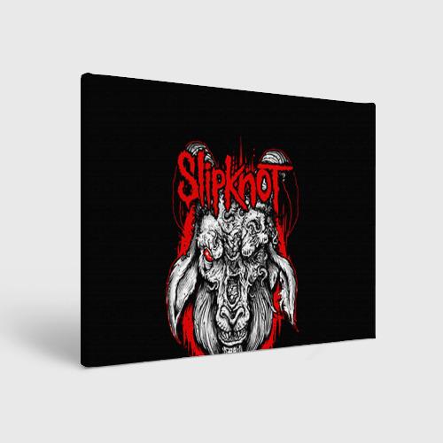 """Холст прямоугольный """"Slipknot"""" (3) - 1"""