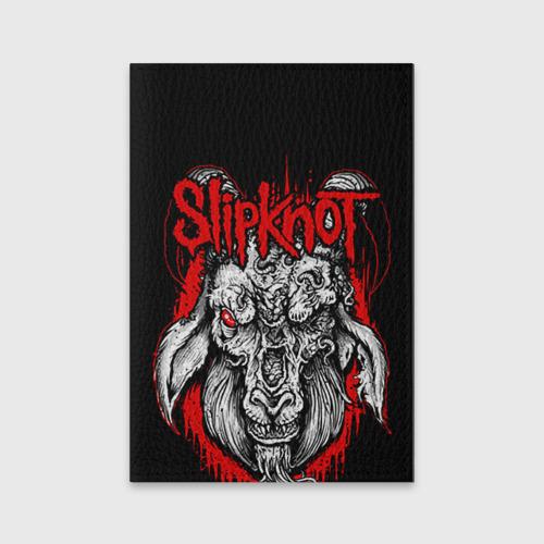 Обложка для паспорта матовая кожа  Фото 01, Slipknot