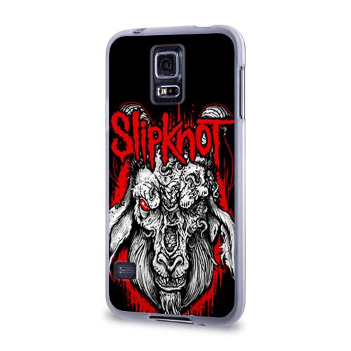 Чехол для Samsung Galaxy S5 силиконовый  Фото 03, Slipknot