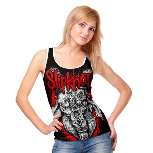 Женская майка 3D  Фото 05, Slipknot