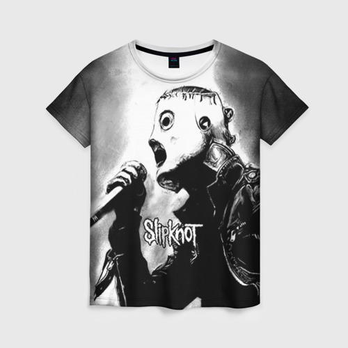 Женская футболка 3D Slipknot
