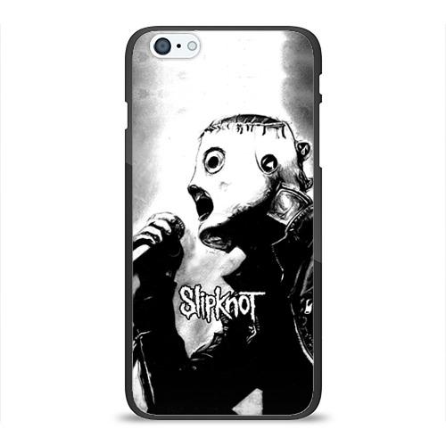 """Чехол силиконовый глянцевый для Apple iPhone 6 Plus """"Slipknot"""" (2) - 1"""