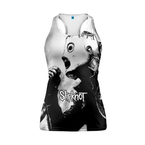 Женская майка 3D спортивная Slipknot